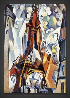 an analysis on robert delaunay s eiffel Robert delaunay eiffel tower this is a study for a painting that robert delaunay contributed to robert mallet-stevens's hall for a model french embassy at the 1925 paris international decorative arts exhibition the conservative exhibition according to provenance notes made by duchamp ( letter of 8 sept 1951 to.