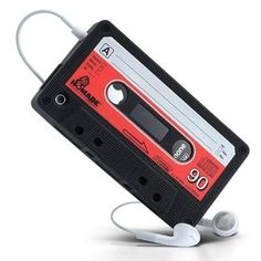 Cute retro cassette tape case for iphone 4