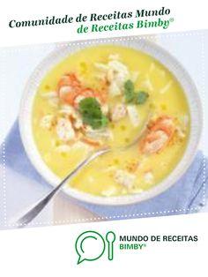Sopa de Peixe de masa39. Receita Bimby<sup>®</sup> na categoria Sopas do www.mundodereceitasbimby.com.pt, A Comunidade de Receitas Bimby<sup>®</sup>. Cheeseburger Chowder, Food, Fish Soup, Types Of Fish, Portuguese Recipes, Pisces, Soups, Journals, Thermomix