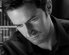 There are things I can't handle and this Lucas North gif is about ten of them. (Headcanon!Viktor in #CleanBreak. Richard Armitage)