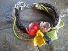 handmade cocoons jewelry - bracelet No41