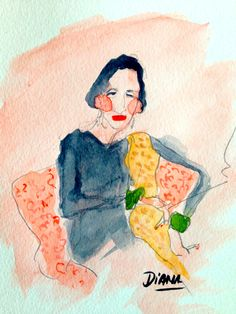 Diana Vreeland by Manuel Santelices