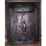 folk victorian fireplace mantels | ANTIQUE CAST IRON VICTORIAN FIREPLACE SURROUND & COV (04/25/2010)...
