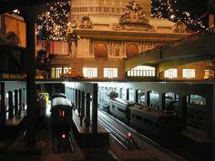 Model Trains, Model Buildings, Model Cars, New York Transit Museum Annex Train Show, Grand Central Terminal, New York | by lensepix