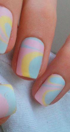 Pastel Nail Art http://www.pinterest.com/emmagangbar/boards/