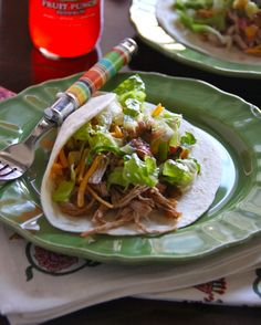 » mexican pulled pork tacos