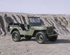 Willys didn't make the original but they built most of them.