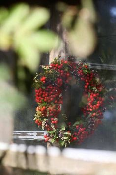 Fresh Berry Wreath...