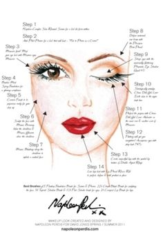 Old Hollywood makeup how-to PROM :) perfect for my dress More