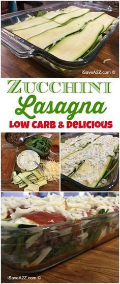 Low Carb Zucchini Lasagna Recipe - Easy, tasty, and healthy lasagna dish with no. Low Carb Zucchini Lasagna Recipe - Easy, tasty, and healthy lasagn. Zucchini Lasagna Recipe Easy, Low Carb Zucchini Lasagna, Lasagna With Zucchini Noodles, Recipes With Zucchini, Vegetable Lasagna Recipe No Noodles, Diabetic Lasagna Recipe, Recipe Using Zucchini, Zuchinni Noodles, Healthy Recipes