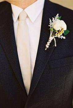 Groom's Boutonniere Ideas | Wedding Ideas | Brides.com