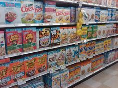 The shocking truth about cereal. Not every cereal are bad, but what you buy and eat. What you will see in this video is a scientific experim...