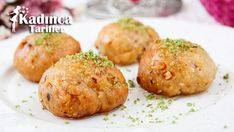 Cevizli Şerbetli Tatlı Tarifi Baked Potato, Tiramisu, Muffin, Potatoes, Pasta, Baking, Breakfast, Ethnic Recipes, Desserts