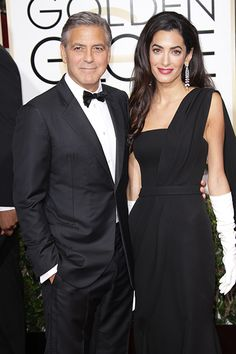 The 15 cutest couples at the Golden Globes last night