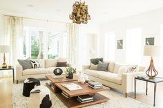 A Serene Family Room | Decorist