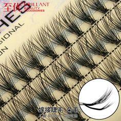 Free shipping  C Mink Eyelash Extension Natural 3D Eyelashes Individual False Eyelash High Quality Fake Lash