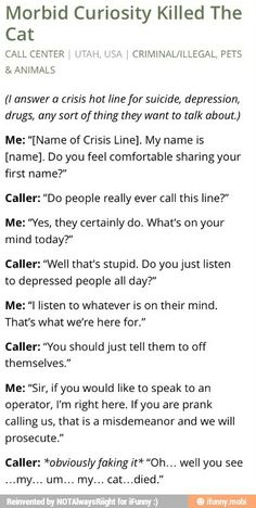 If you don't understand depression then get off the line.