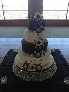 Calumet Bakery Wedding cake #45