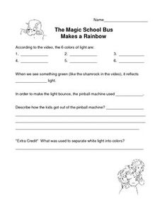 "This includes questions for the episodes of ""The Magic School Bus ..."