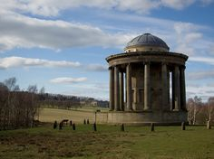 The Rotunda, Wentworth Castle    Another recently restored folly in the grounds of Wentworth Castle, South Yorkshire, which are well worth a visit if you've not been there.