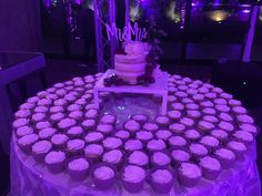 Weding cupcakes and cake