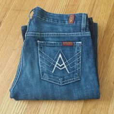 7 for all Mankind Jeans Size 25. Inseam 34. 7 for all Mankind Jeans Boot Cut