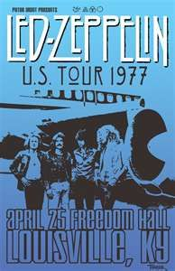 Led Zeppelin - April 25th, 1977 - Freedom Hall, Louisville, KY - ☯☮ॐ Lucas Lima ☯☮ॐ