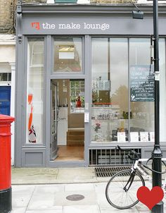 The Make Lounge, 3-4 Waterloo Gardens, Barnsbury St., London