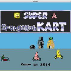Programa da noite: #romhack.#snes #gaming #linux #znes #emulator #spongebob #racing #nofilter by tuxbulldog