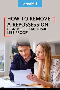 Need to get an auto repossession off of your credit report? Find out how I raised my credit score by removing an auto repossession from my credit report. #creditscorerepair #howtoincreasecreditscore #howtoimprovecreditscore #improvecredit #howtobuildyourcreditscore #increasecreditscore #rebuildcreditscore #fixingmycreditscore #freecreditrepair #howtoraisecreditscore #repaircreditscore #creditscoretips #improvecreditscore #improveyourcreditscore How To Fix Credit, Good Credit Score, Improve Your Credit Score, Credit Report, Money Saving Tips, Money Tips, Money Management, Personal Finance, Budgeting
