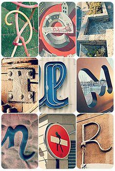 Nouvelles photos-lettres #alfagram #alphabetphotography #alphabet