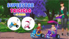 SuperStar Triciclo at Victor Miguel • Sims 4 Updates