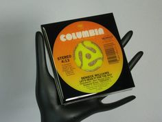 Deniece Williams Collectable Record Drink by ROCKANDROLLCOASTERS, $6.50