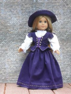 Renaisance Outfit for your American Girl by CarmelinaCreations, $75.00