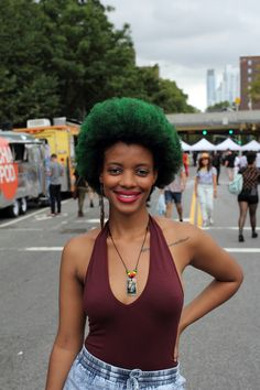 Jocelyn, you are a goddess // AfroPunk '14
