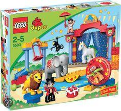 Speelgoedzoeker.com - Goedkoop Lego Duplo Ville Circus 5593 kopen van LEGO / ISBN 5702014517028