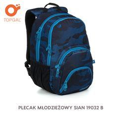 Plecak Topgal jest pojemny i praktyczny!