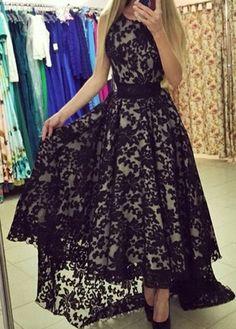 Vestido Longo Elegant de Renda