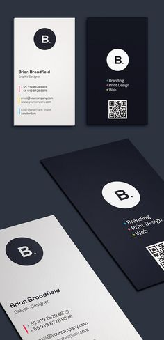 Simple, clean and minimal business card templates ideal for personal identity or minimalist design business. The super clean business card designs have been Corporate Design, Graphic Design Branding, Logo Design, Design Cars, Minimal Business Card, Business Card Psd, Modern Business Cards, Corporate Business, Business Card Templates