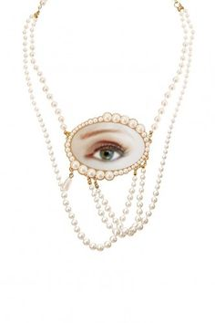 Lover's Eye Statement Necklace