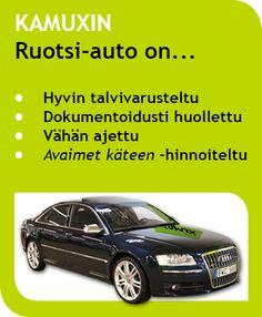 Auto Ruotsista - KAMUX