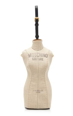 a591b3deb24c Mannequin Bag by MOSCHINO for Preorder on Moda Operandi Linen Bag