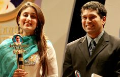 #Tendulkar with #Kareena