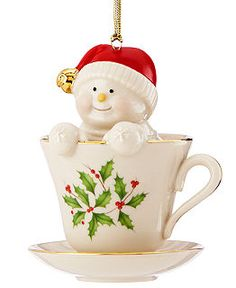 lenox christmas ornaments holiday favorites holiday lane macys coffeetea and me - Lenox Christmas Decorations