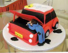 muñecos de torta personalizados mecanico - Buscar con Google