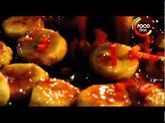 How to cook Hot Bananas Dessert - Gordon Ramsay Recipe - easy to cook