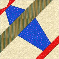 """""""Airplane"""" block tutorial (from Quilters Corner Club)"""