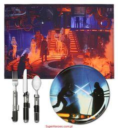 Zestaw obiadowy Star Wars - Miasto w Chmurach
