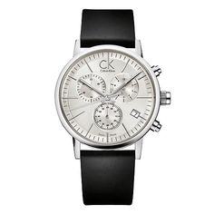 CK Calvin Klein mens black strap watch  CKs timepiece collection breaks the rules - innovative and minimal with a funky sexy vibe. A fashionable watch from CK Calvin Klein watches. Featuring a black leather strap and round silver dial.Face colour: Silver; Face shape: Round; Case material:   http://www.comparestoreprices.co.uk/mens-watches/unbranded-ck-calvin-klein-mens-black-strap-watch.asp
