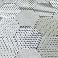 Say hello to our new Concrete effect Jesmonite 'Hex' tile